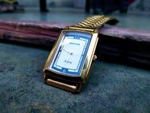 Sonata watch. Gold Sonata watch stock images
