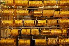 Gold-souk Stockbild