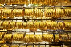 Gold Souk in Dubai Stockbilder
