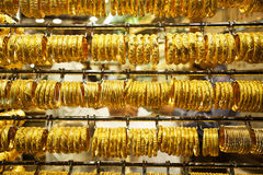 Gold souk in Dubai Stock Images
