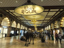 The Gold Souk at Dubai Mall in Dubai, UAE Stock Photo