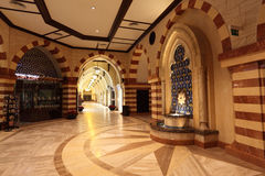 Gold Souk inside of Dubai Mall Stock Photography
