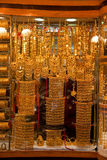 Gold Souk - reines Gold Lizenzfreie Stockfotografie