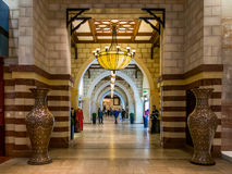 Gold Souq entrance in Dubai Mall in Downtown Dubai Royalty Free Stock Photography