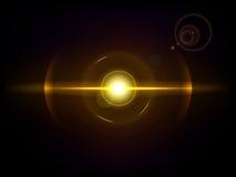 Gold space explosion, cosmos burst Stock Photos