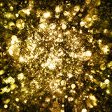 Gold sparkle glitter background Royalty Free Stock Photography