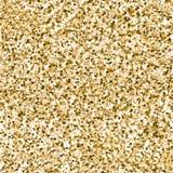 Gold sparkle glitter seamless background Royalty Free Stock Photos