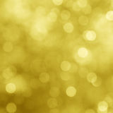 Gold sparkles. Royalty Free Stock Images