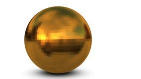 Gold Sphere Stock Photo