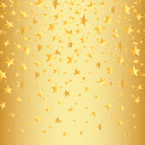 Gold spielt auf einem goldenen nahtlosen Hintergrund mit einer Steigung die Hauptrolle Auch im corel abgehobenen Betrag Lizenzfreies Stockbild