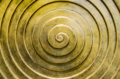 Gold spiral Stock Photos