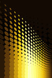 Gold Spot Pattern. Vector illustration of gold spot pattern Royalty Free Stock Images