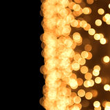 Gold spots bokeh Stock Photo
