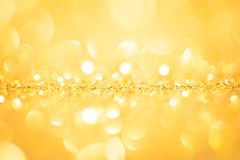 Gold spring or summer background Royalty Free Stock Photography