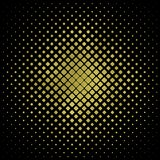Gold square on black background, Gold square texture. Glitter square pattern. Glitter Geometric Wallpaper. Geometric Pattern, for printing, packaging, covers vector illustration
