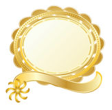 Gold stamp Royalty Free Stock Image