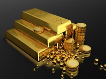 Gold standart Stock Image