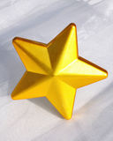 Gold star Royalty Free Stock Image