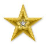 Gold Star Royalty Free Stock Photos