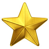 Gold star Stock Photos