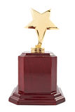 Gold star award Stock Images