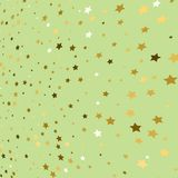 Gold star background. Golden stars confetti. Vector illustration. Gold star background. Golden stars confetti. Vector stock illustration