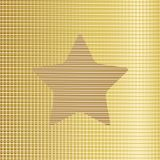 Gold star background. Vector Royalty Free Stock Images