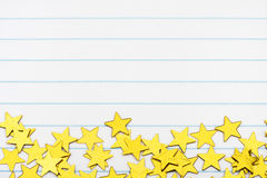 Gold Star Border Royalty Free Stock Image