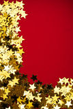 Gold Star Border Royalty Free Stock Images