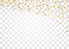 Gold star confetti background Royalty Free Stock Photography