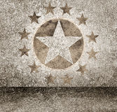 Gold star hollywood event background. Walk of fame Stock Image