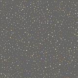 Gold star seamless pattern. Vector design. eps10 Royalty Free Stock Photo