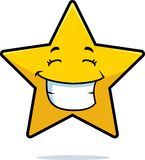 Gold Star Smiling Stock Image