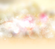 Gold starry background Royalty Free Stock Photos