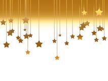 Gold stars Stock Image
