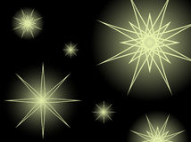 Gold Stars background Royalty Free Stock Photo