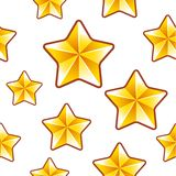 Gold stars background Stock Photography