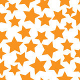Gold stars seamless Royalty Free Stock Photos