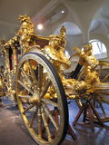 Gold State Coach, England Stock Image