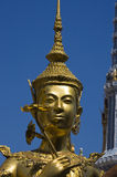 Gold statue in Thailand, Bangkok. Stock Photography