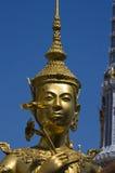 Gold statue in Thailand, Bangkok. Stock Photography