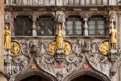Gold Statues At The Basilius Stock Image