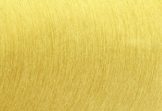 Gold steel brushed texture Stock Images