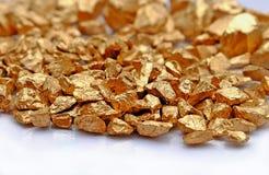 Gold stone Stock Photo