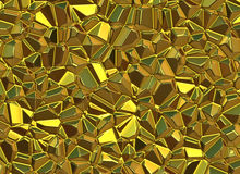 Gold stones surface relief shining backgrounds Royalty Free Stock Photography
