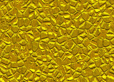 Gold stones surface relief shining backgrounds Royalty Free Stock Photos