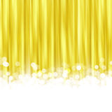 Gold Striped Background Royalty Free Stock Photography