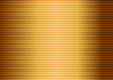 Gold striped lined Stock Photography