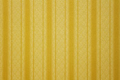 Gold striped wallpaper Royalty Free Stock Photos