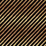 Gold Stripes Faux Foil Metallic Pattern Royalty Free Stock Image